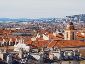 Sur les toits de Nice